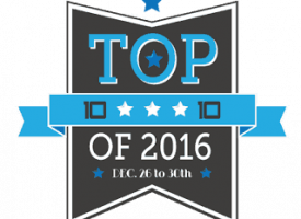 The time it was the Top 10 of 2016 {3}